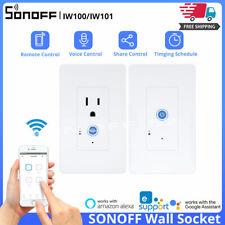 SONOFF IW100/IW101 US Smart Wall Socket Switch Wireless WIFI APP Remote Control