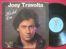 JOEY TRAVOLTA ~ HOLD ON (1984) SUGAR HILL SH 9207 LP POP FUNK NM/VG+
