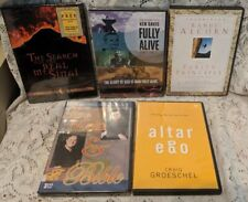 Lot of 5 CHRISTIAN DVDs & Audio CD Sets Faith 3 Are Brand New Chironna Ken Davis