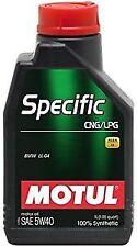 1 L MOTUL  SPECIFIC GAS GPL OLIO MOTORE AUTO E METANO CNG/LPG 5W40  101717