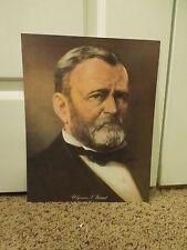 Ulysses S Grant President Portrait Poster Reproduction Print
