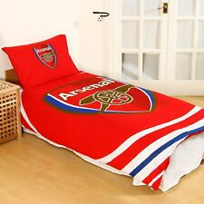 Arsenal FC Gift Kids 'Pulse' Single Reversible Duvet Cover And Pillowcase Set