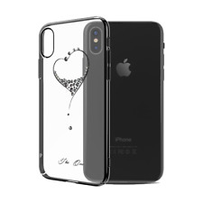 Kingxbar Deluxe Swarovski ® Hard Case for iPhone x 4 colores