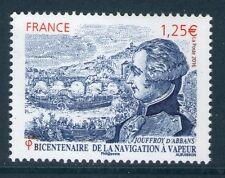 TIMBRE 5044 NEUF XX TTB BICENTENAIRE DE LA NAVIGATION A VAPEUR JOUFFROY D'ABBANS