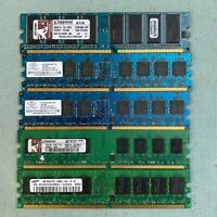 DDR2 SDRAM PC4200U PC Computer Memory 1GB 2GB 533 MHz Samsung Kingston Nanya
