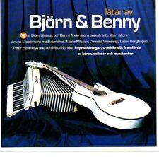 CD Låtar Latar av Björn & Benny (ABBA), schwedisch svenska hits, RAR RARE