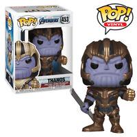 Thanos Avengers Endgame Funko Pop Vinyl Figure Official Marvel Collectables