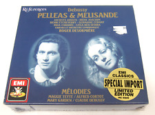 Pelleas & Melisande Debussy Opera EMI CD Set, Brand New, Sealed
