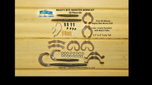 Mighty Bite Monster Worm Kit - 50 Pieces