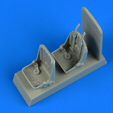 Quickboost 48883 1/48 Resin Fairey Firefly Mk.I seats with seatbelts Trumpeter