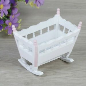 Doll House Accessories - 1 Mini Cradle