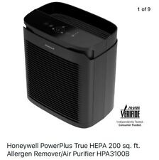 Honeywell PowerPlus True Hepa 200 sq. ft. Allergen Remover/Air Purifier Hpa3100B