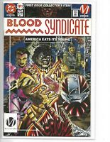 Blood Syndicate #1 // First appearance // DC // Milestone Comics
