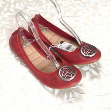 Jaclyn Smith Womens Flats Size 11 Red Ballet Style Shoes Aster Casual New
