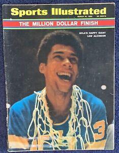 3.31.1969 LEW ALCINDOR UCLA BRUINS Sports Illustrated NCAA - GORDIE HOWE Old Ad