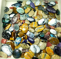 Natural Mix Agate Jasper Quartz Gemstone cabochon loose gemstone Wholesale Lot