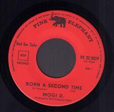 "MOGI D. – Born A Second Time (RARE 1968 PROMO SINGLE 7"" GOLDEN EARRING COVER)"