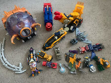 Transformers Armada Energon Lot Unicron Optimus Scorponok Parts & More