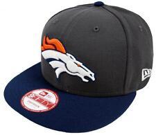New Era NFL Denver Broncos Graphite Snapback Cap S M 9fifty Limited Edition