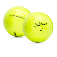 48 Titleist NXT Tour S Yellow Used Golf Balls Perfect Mint AAAAA / Free Shipping
