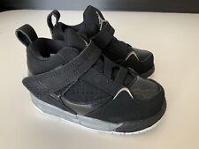 Nike Air Jordan Kids Sneakers,, Uk 5.5 Infants Eu22, Black, Bnwob