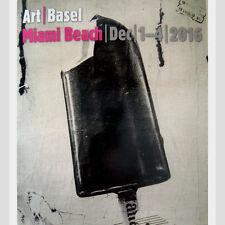 ART BASEL Magazine Miami Beach December 2016 Edition Mimmo Rotella Ice Cream