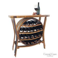 17 Bottle WINE BARREL Wine Rack Holder Rustic Furniture Handmade FREE SHIPPING!