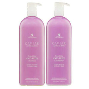 New Authentic Alterna Caviar Anti-Aging Anti Frizz Shampoo & Conditioner 33.8 Oz