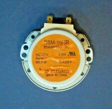 Kenmore LG Whirlpool GE Goldstar Microwave Glass Tray Drive Motor 6549W1S013K