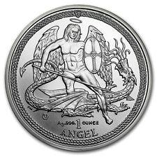 2015 1 oz .999 Isle of Man Angel Silver Coin