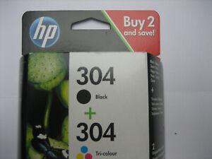 HP ORIGINAL  Black + Color  Nr.304   for Deskjet 2620 2630 2632 3720 3730