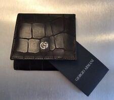 Giorgio Armani Mini-Wallet/ Purse for Bills and Coins