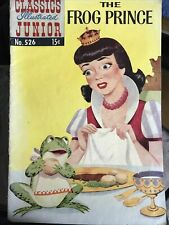 The Frog Prince Classics Illustrated Junior No. 526 May 1956 (VG)