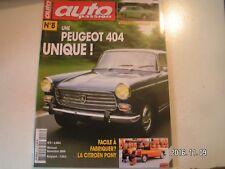 **a Auto Passion n°8 Peugeot 404 Berline 1967 / Citroën Pony 1974