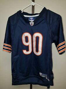 Julius PEPPERS Chicago Bears YOUTH Large 14-16 JERSEY-Reebok