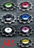 J&L Rear Derailleur Ceramics Carbon Pulley/Jockey For Shimano,SRAM&Campagnolo-5g