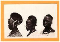 COIFFURE ETHNIQUE (HAUTE-VOLTA) PORTAIT FEMMES KADO avec bijoux vers 1930