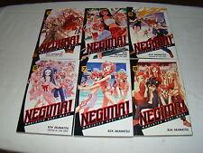 Neguna! - Ken Akamatsu 1, 2, 3, 5, 7. 8 - Manga Japanese manga comic English