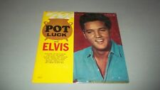 ELVIS PRESLEY - POT LUCK WITH ELVIS - LP - MADE IN ITALY
