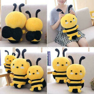 Children's Plush Bee Toy Birthday Doll Bee Doll Holiday Girl Gift Pillow