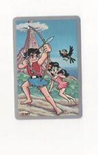 Swap Playing Cards 1 1960's Japanese Nintendo Anime Gaboten Island A71