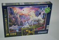 EARLY EVENING fluorescent(Glows in the dark) 1000 Piece Jigsaw Puzzle CLEMENTONI