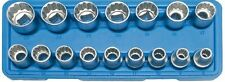 Cass.16 PCs Brújulas 1/2 poligonal - Código Bgs2226 BGS Oficina