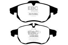 EBC Ultimax Front Brake Pads for Cadillac BLS 1.9 TD (150 BHP) (2006 > 10)