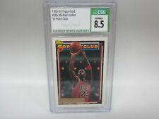 1992-93 Topps GOLD Michael Jordan #205 CSG 8.5 NM/MT+