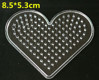 NEW Large Pegboards for Perler Bead Hama Fuse Beads Clear Square Design Board