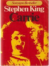 CARRIE PRIMA EDIZIONE KING STEPHEN SONZOGNO 1977 NARRATIVA SONZOGNO