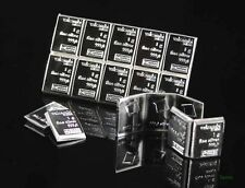 Block of Ten 1-Gram Valcambi Suisse .999 Fine Silver Bars 10 x 1 Gram Bullion