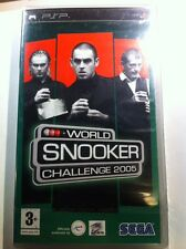 WORLD SNOOKER CHALLENGE 2005 nuovo sigillato sealed  per SONY PSP