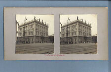 1880s STEREOVIEW. Old Real Photo BRAZIL Palacio do Catete BRASIL 19th century